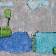 """Rain"" - 100x80x4,5 cm"