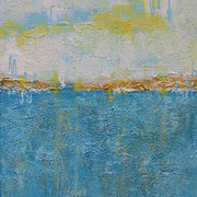 """Der Sonne Entgegen"" - 40x50x4,5 cm"