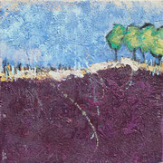 """""""Up on the Hill"""" - 40x40x4,5 cm"""