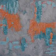 """Fire & Ice"" - 60x60x4,5 cm"