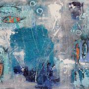 """Treasure Of The Sea"" - 100x70x4,5 cm - verkauft"