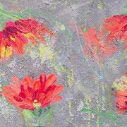 """Tropical Feeling"" - 40x120x4,5 cm - verkauft"