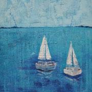 """""""Auf zu neuen Ufern"""" - 60x80x4,5 cm - verkauft"""