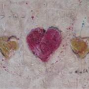 """""""Love Is All We Need"""" - 130x60x4,5 cm"""