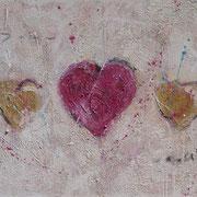 """Love Is All We Need"" - 130x60x4,5 cm - verkauft"