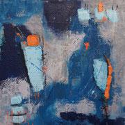 """My Color Is Blue"" - 70x70x4,5 cm  - verkauft"