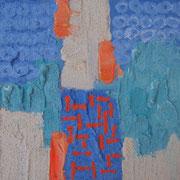 "Wandbild ""Piccolino II"" - 20x20x3 cm - Holz - verkauft"