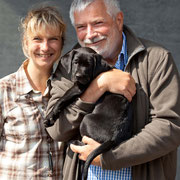 Petra und Michael mit Clockwork Baxter's Barley Bree
