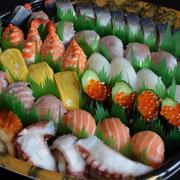 お寿司盛り合せ