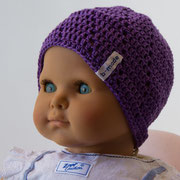 Violett, Spiralmuster, 4-6 Monate