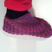 b-feet für Damen (eine Art Woll-schlupf-latschen mit Sockenwolle)