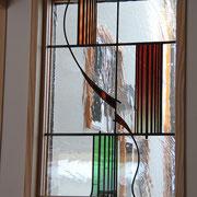 アンティークグラデーションガラス使用