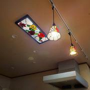オーナーお気に入りの既存ランプとコーディネイト