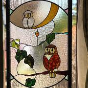 様々な透明系ガラスを配置して最高の雰囲気を作り出しています。