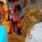 湘南まるめろ保育園にいた魔女。一番怖かった!と子どもたちが呟いていました。