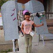 湘南まるめろ保育園の5歳児さん、やり遂げた達成感でしょうか?みんなニコニコで戻っていきました。