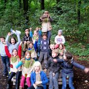 Kleine Indianer: Erfolgreiche Indianer Schatzsuche in Dortmund/ Schwerte