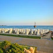 Strand, Hotel Side Star Beach, Side, Türische Riviera