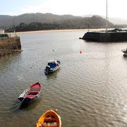 Fischerhafen Galicien