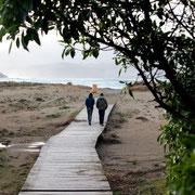 Strandspazierung