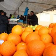 Marktleben in Galicien