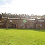 Unsere Unterkunft in Galicien