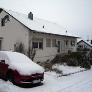 Der Rebackerweg im Winter