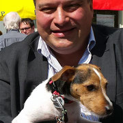 Wahlkampf mit Hund