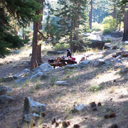 Crystal Springs Campground in der Sierra Nevada, Kalifornien