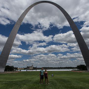 The Gateway to the West, St. Louis, Missouri