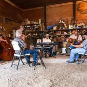Konzert im Schuppen, Booneville, Missouri