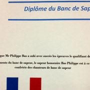 Diplome du ban du sapeur