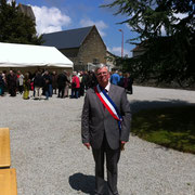 Inauguration le 25 mai sous la conduite de M.Denis Lenesley, maire de la Ronde Haye, qui a donné l'impulsion au projet