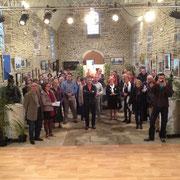 Perspective de la chapelle Saint-Benoît que la municipalité a fait revivre comme lieu de culture