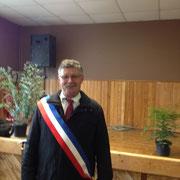 Michel Lebédel, maire de Saint-Martin-le-Bouillant