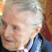 Mme Gilbert, raconte un siècle de vie en commençant par ses souvenirs de la guerre de 14-18