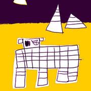 ピラミッド月夜