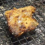 焼き方:糠を付けたまま2~3分程度。フライパンにアルミホイルを敷いてもOK.。