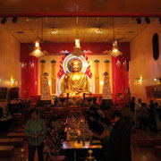 Buddhistischer Tempel in Chinatown.