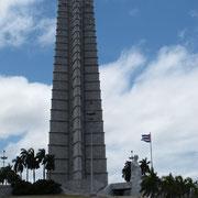 Die Hauptstadt Havanna - Plaza de la Revolución José Martí.