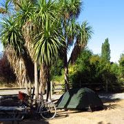 Campingplatz bei Hanmer Springs.