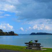 Start von Auckland nach Coromandel