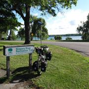 Radweg entlang dem Niagara River...