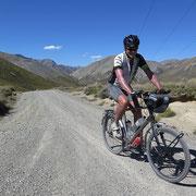 Rainbow Trail - die letzten staubigen und erschütternden Kilometer nach Hanmer Springs.