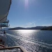 Video - Überfahrt auf die Südinsel durch die Cookstraße