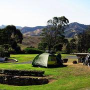 Einer der wenigen, kostenlosen Freedom-Campgrounds
