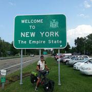 Welcome im Bundesstaat New York