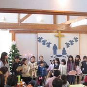 教会合唱祭でも歌いました