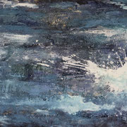 Splash, Acrylbild, 50 cm x 100 cm