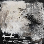 Black & White, Acrylbild 50 cm x 100 cm